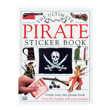 Ultimate Sticker Book: Pirate By DK Publishing