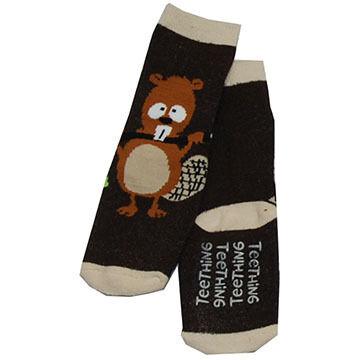 Lazy One Infant Boys Teething Sock