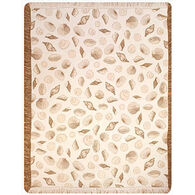 Manual Woodworkers & Weavers Seashell Rayon Throw