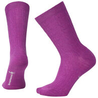 SmartWool Women's Cable II Crew Sock - Special Purchase