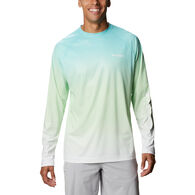 Columbia Men's PFG Terminal Deflector Printed Long-Sleeve Shirt