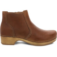 Dansko Women's Barbara Oiled Pull Up Leather Bootie