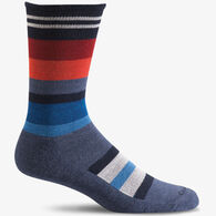 Goodhew Men's Stand Up Stripe Crew Sock