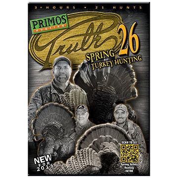Primos Truth 26 Spring Turkey Hunting DVD
