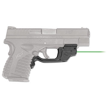 Crimson Trace LG-469GH BT Green Springfield XD-S Laserguard Laser Sight w/ Blade-Tech IWB Holster