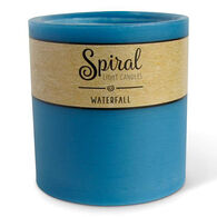 Spiral Light Small Candle - Waterfall