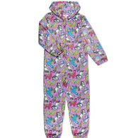 Candy Pink Girl's Rainbow Carnival Pajama Onesie