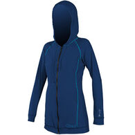 O'Neill Women's 24-7 Long-Sleeve Hooded Cover Up Shirt