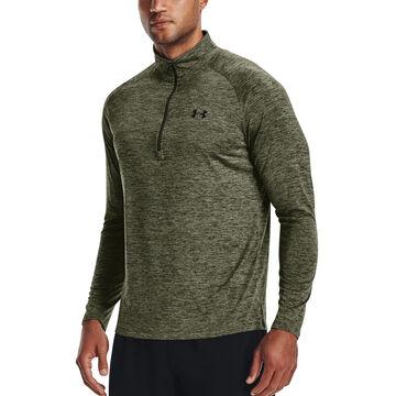 Under Armour Mens UA Tech 1/2 Zip Long-Sleeve Shirt