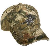 Outdoor Cap Men's Winchester Horse Logo Camo Cap