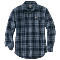 Carhartt Men's Big & Tall Hubbard Plaid Long-Sleeve Shirt