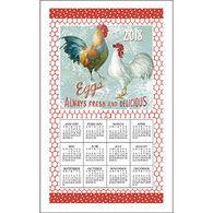 Kay Dee Designs 2018 Farm Nostalgia Calendar Towel