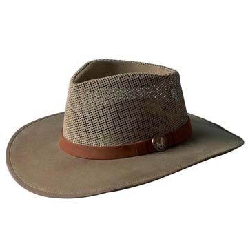 Outback Trading Mens Kodiak Hat w/ Mesh