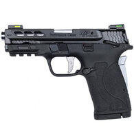 "Smith & Wesson Performance Center M&P380 Shield EZ M2.0 Silver Ported Barrel 380 Auto 3.8"" 8-Round Pistol"
