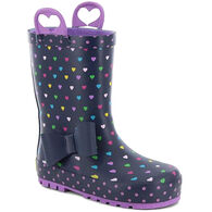 Western Chief Girls' Heart Parade Rain Boot