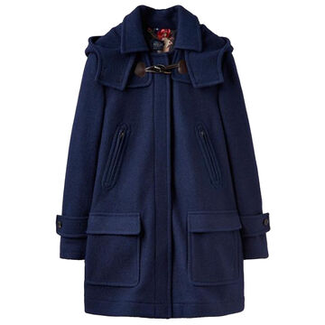 Joules Womens Woolsdale Double Faced Lined Duffle Coat