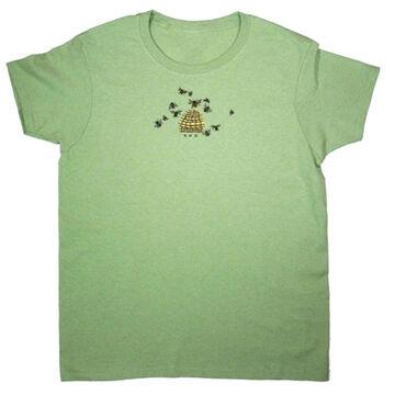 Liberty Graphics Womens Bee Hive Short-Sleeve T-Shirt