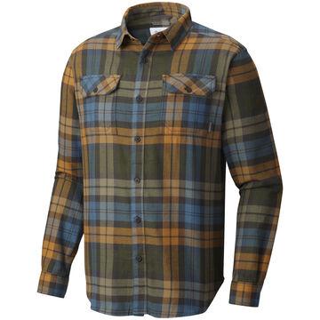 Columbia Mens Flare Gun Flannel Long-Sleeve Shirt