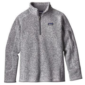 Patagonia Girls Better Sweater 1/4-Zip Long-Sleeve Fleece Shirt