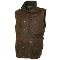 Outback Trading Men's Deer Hunter Oilskin Vest