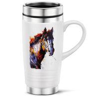 Big Sky Carvers Poncho Horse Travel Mug