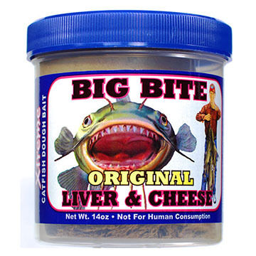 Magic Bait Big Bite Original Dough Catfish Bait - 14 oz.