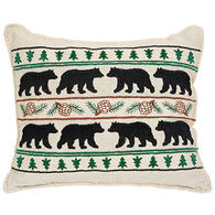"""Paine Products 6"""" x 7"""" Black Bear Balsam Pillow"""