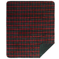 Monterey Mills Denali Classic Plaid Spruce Throw Blanket