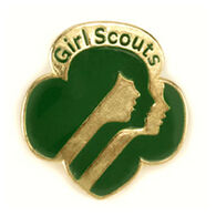 Girl Scouts Membership Pin