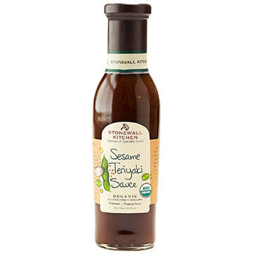 Stonewall Kitchen Organic Sesame Teriyaki Sauce, 11 oz