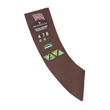 Girl Scouts Official Brownie Sash