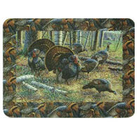 Rivers Edge Turkeys Cutting Board