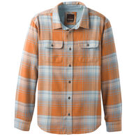 prAna Men's Lybek Midweight Flannel Long-Sleeve Shirt
