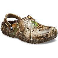 Crocs Men's Classic Lined Realtree Edge Clog
