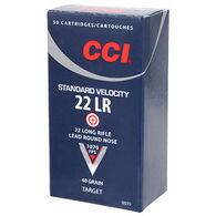 CCI Standard Velocity 22 LR 40 Grain LRN Rimfire Ammo (50)