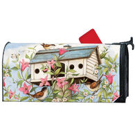 MailWraps Birdhouse With Clematis Magnetic Mailbox Cover