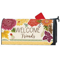 MailWraps Autumn Floral Magnetic Mailbox Cover