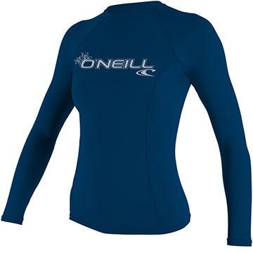 ONeill Womens Basic Skins Long-Sleeve Rashguard