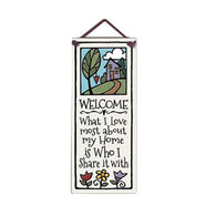 "Spooner Creek ""Who I Share It With"" Large Talls Tile"