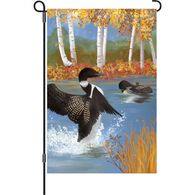 Premier Designs Autumn Loons Garden Flag