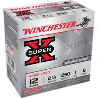 "Winchester Super X Upland Game 12 GA 2-3/4"" 1 oz. #8 Shotshell Ammo (200)"