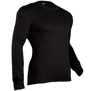 Inderal Mills Mens Expedition Crew-Neck Baselayer Top