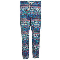 Woolrich Women's Colwin Fleece Printed Pajama Pant - Curved