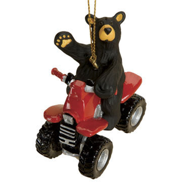 Big Sky Carvers ATV Ornament