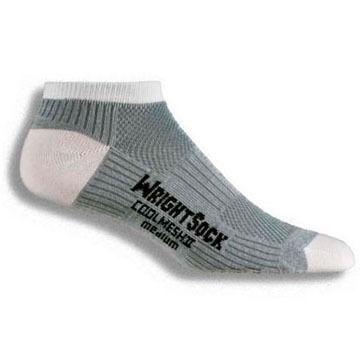 WrightSock Mens Cool Mesh II Low Quarter Sock
