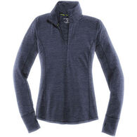 Brooks Women's Dash Half-Zip Long-Sleeve Running Shirt