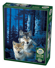 Outset Media Jigsaw Puzzle - Wolf Canyon