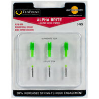 Tenpoint Alpha-Brite Lighted Nock System - 3 Pk.
