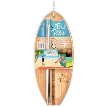 Mellow Militia Tiki Toss Surf Deluxe Edition Hook & Ring Game w/ Telescoping Pole