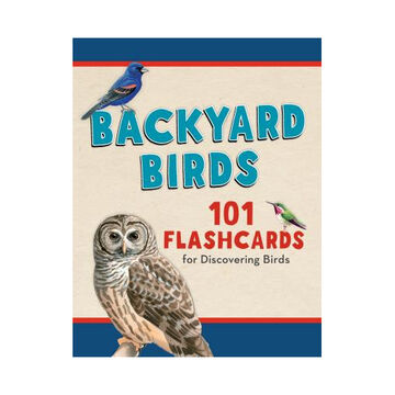 Backyard Birds: 101 Flashcards for Discovering Birds by Todd Telander